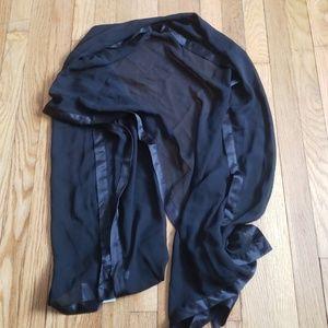Brand new calvin Klein black scarf